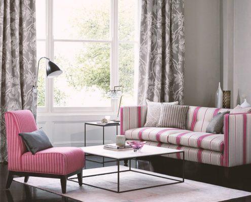 Polsterung bei Couch und Sessel
